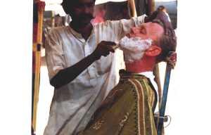 A close shave at Pushkar