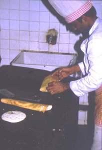 Making a dhosa