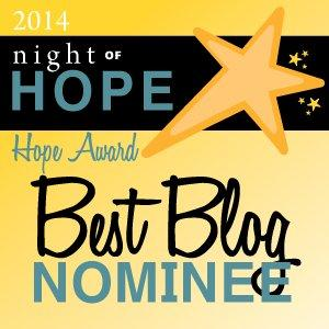 RESOLVE Hope Award Badge