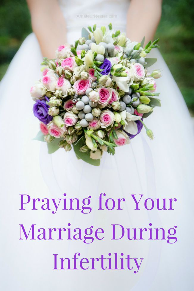 praying for your marriage during infertility | 31 Days of Prayer During Infertility