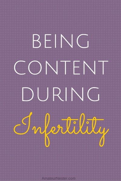 content during infertility