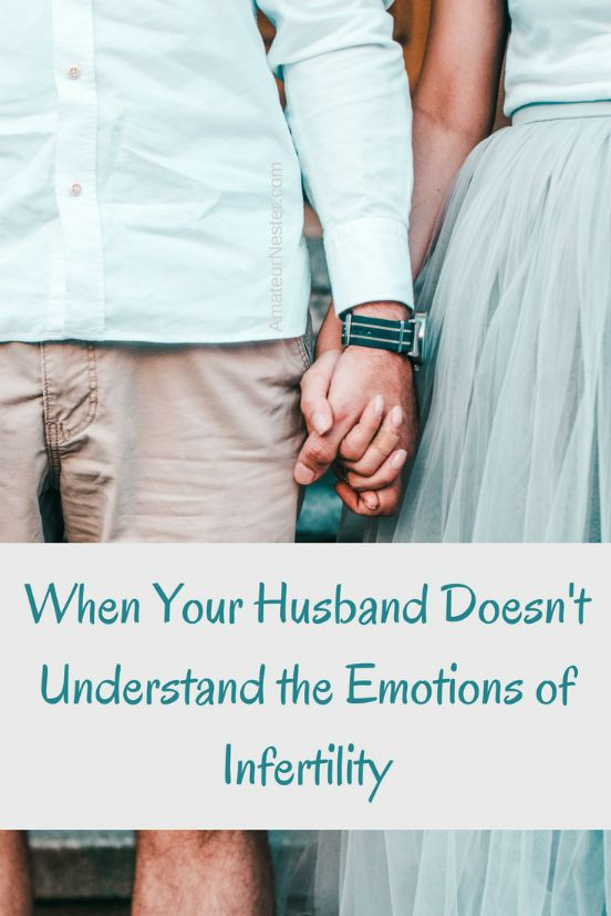 When Your Husband Doesn't Understand the Emotions of Infertility | TTC, IVF, trying to conceive, marriage