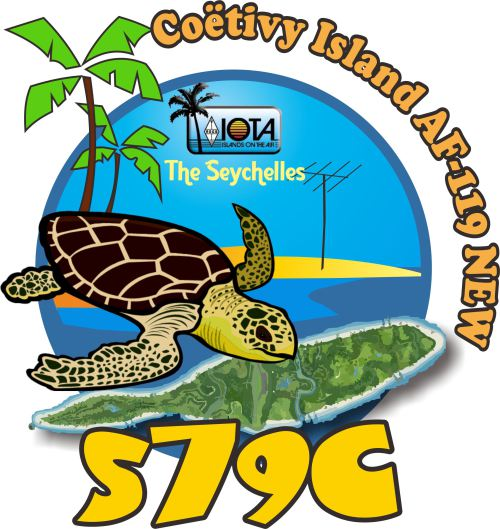 S79C is the first ever activation of Coetivy Island in the Seyshelles