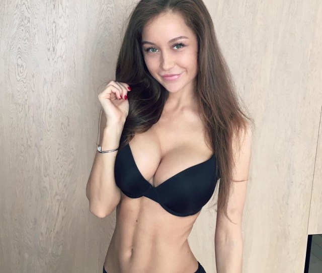 Smirky Smile Of Busty Petite With Big Tits