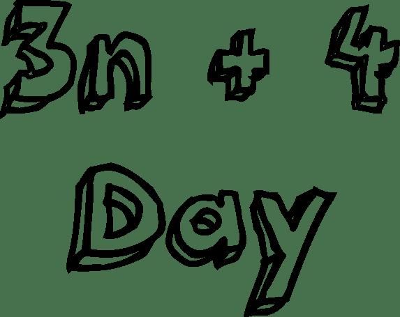 3n + 4 day