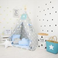 BLUE HERO CHILDREN'S TEEPEE TENT | Decorative Kids' Play ...