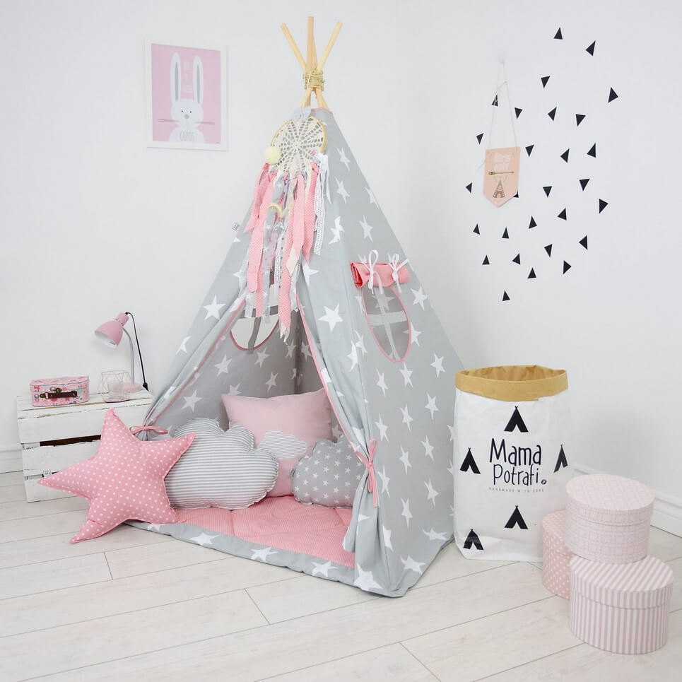 In My Imagination Children's Teepee Tent