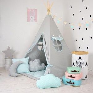 Add the perfect touch to your child's room with the North Wind Children's Teepee Tent. Let your little enjoy their own teepee for hours of play time and imagination.
