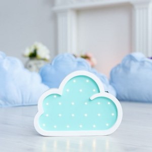 With a charming design, the Cloud Wooden Night Light provides a reassuring glow for your little one, making it perfect for a nursery or kids room nightlight, or an interesting addition to any other space.