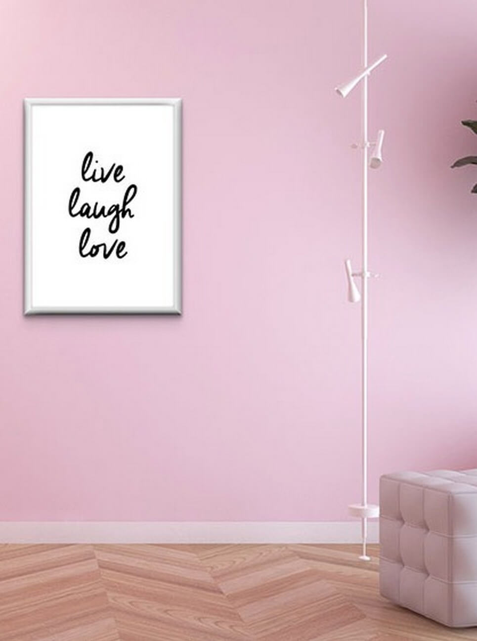 Home Wall Poster – Live Laugh Love