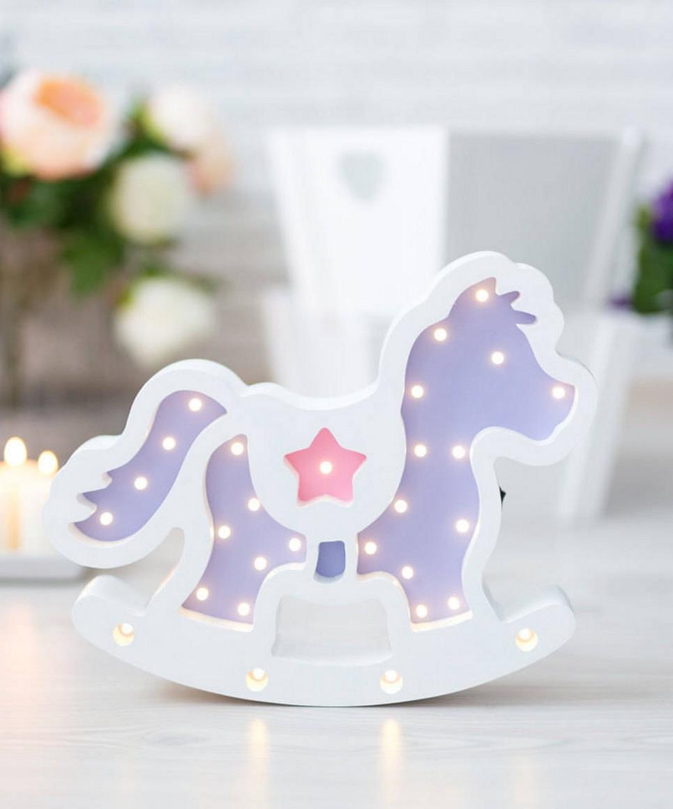 Horse Wooden Night Light – 5
