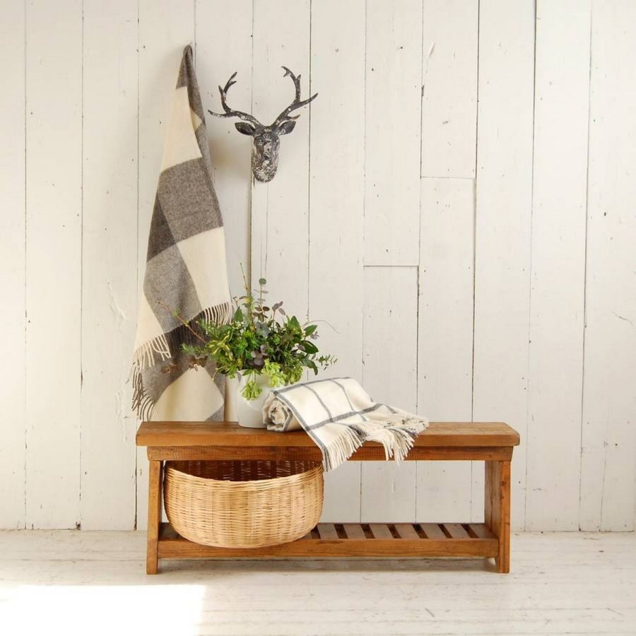 Check out these wonderful indoor benches that will add a unique piece to your living space!