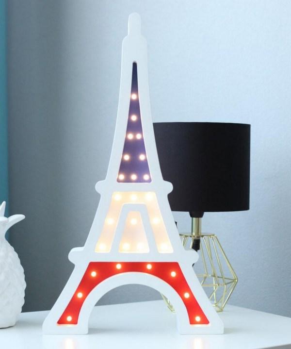 Tour Eiffel Wooden Night Light – 3
