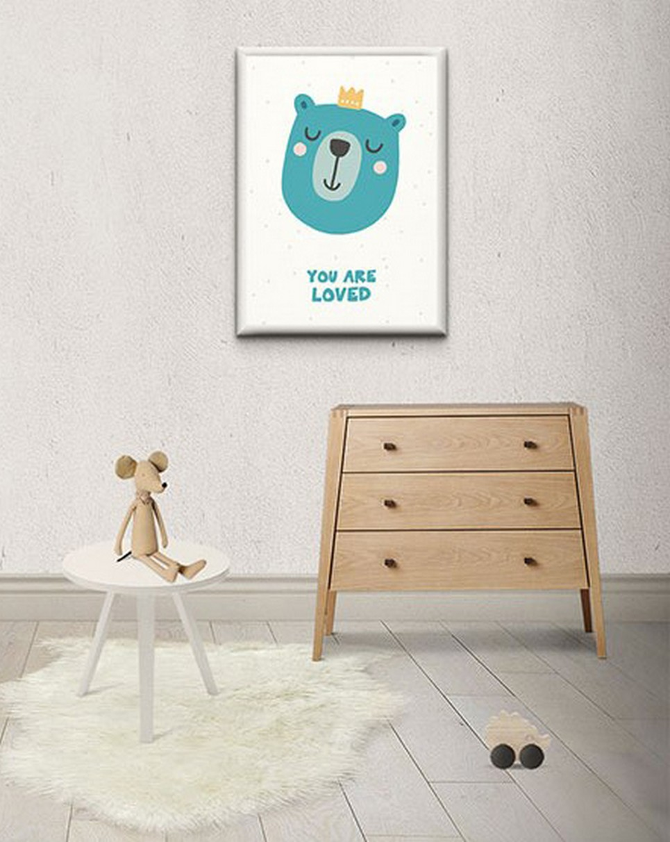 Children's Poster – You are loved – 2