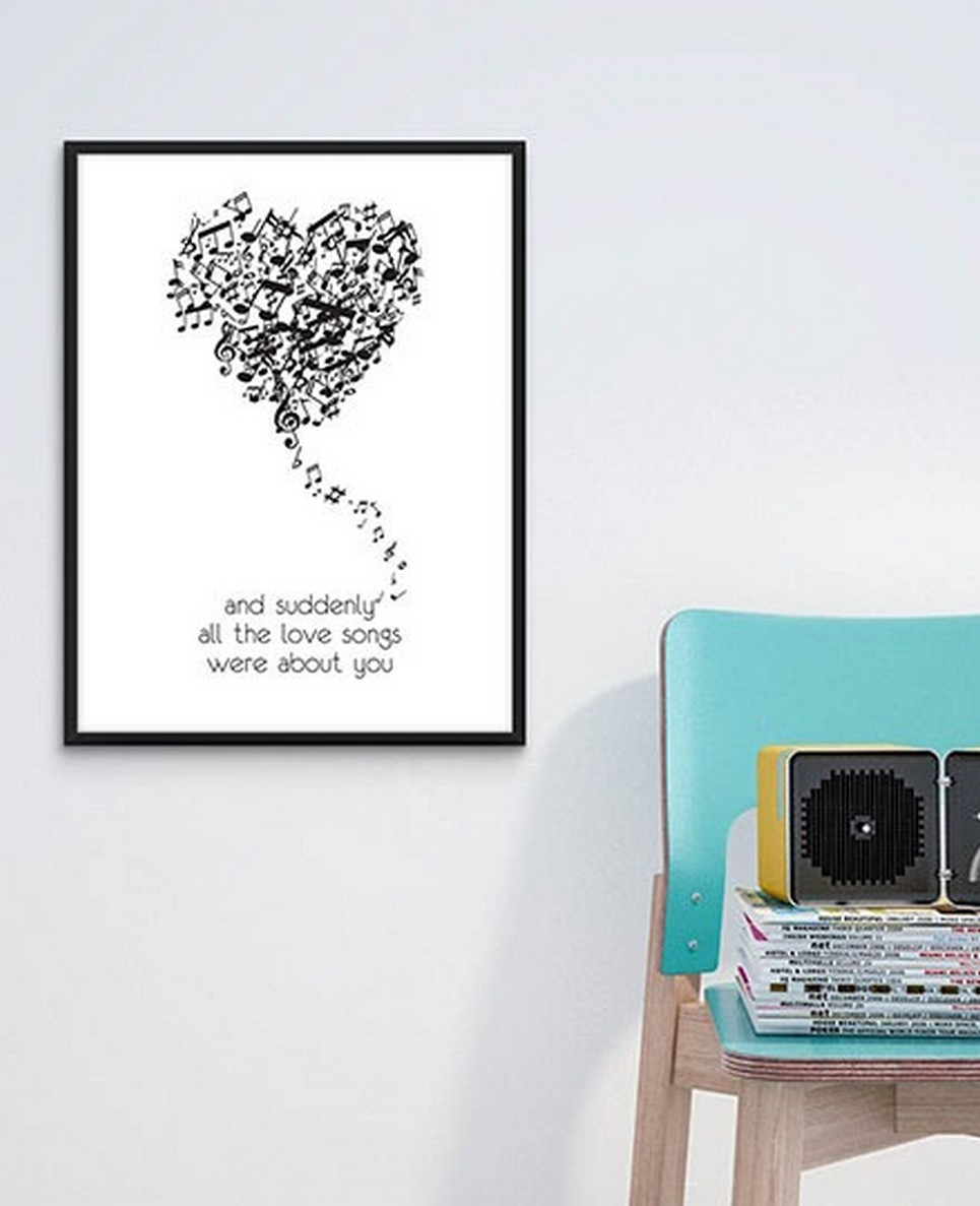 Home Wall Poster – All The Love Songs