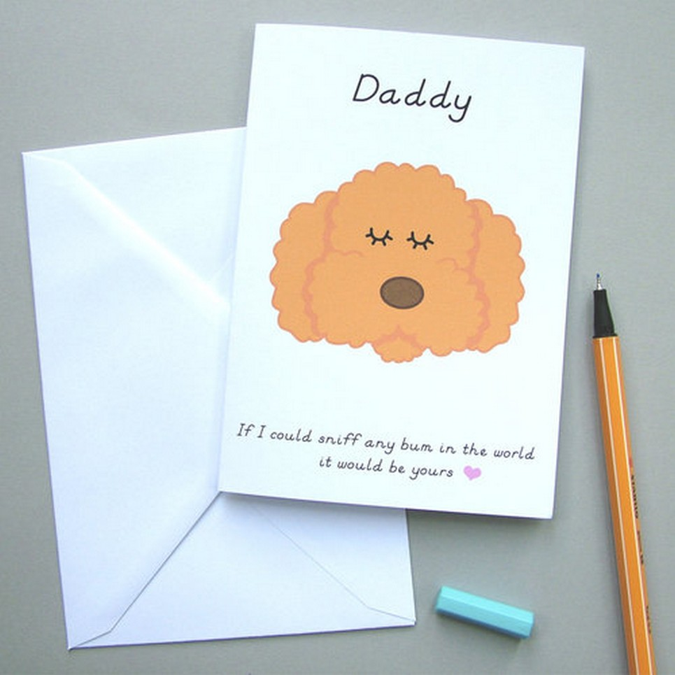 'Daddy' Card from your Pet