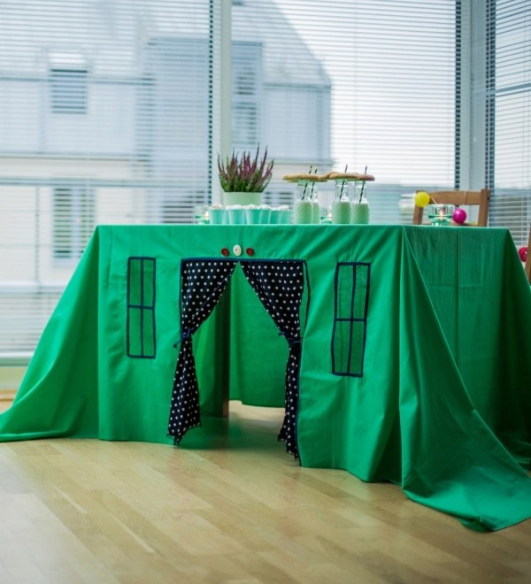 Green Oasis Tablecloth Playhouse – 4