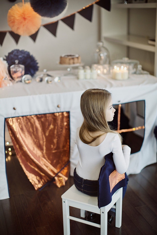 Mermaids House Tablecloth Playhouse