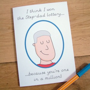 Send your love and warmth with the 'One in a Million' Step-Dad Card. An ideal gift for a birthday or anniversary, this is a truly unique keepsake card that lets your other half know just how much they mean to you.