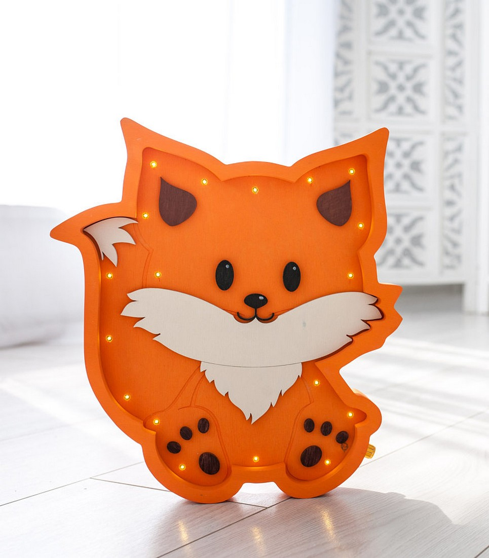 Fox Decorative Night Light – 7