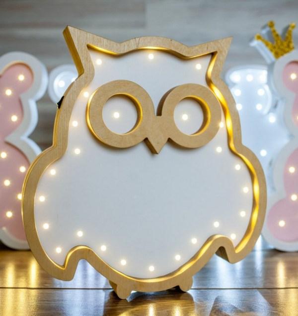 Owl Decorative Night Light – 3
