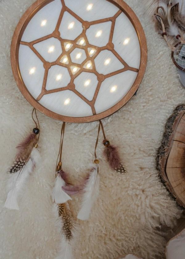 Boho Dreamcatcher Decorative Night Light