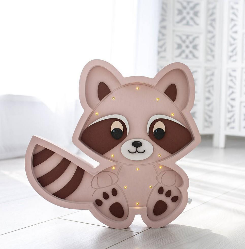 Raccoon Decorative Night Light – 5
