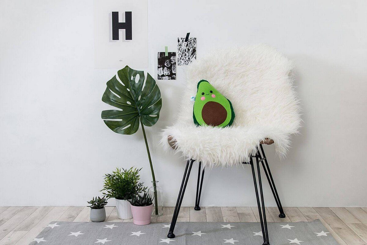 Sure, your kitchen is decked out in all of the cutest culinary decor, but what about the rest of your home? Food-themed pillows are a good place to start.
