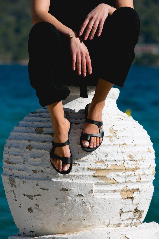 Aries Greek Leather Sandal – 1