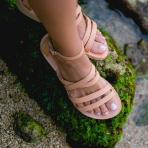 Just what every summer wardrobe needs, the Andromeda Greek Leather Sandal is every woman's dream pair, super comfy and elegant, and easily combined with any outfit.