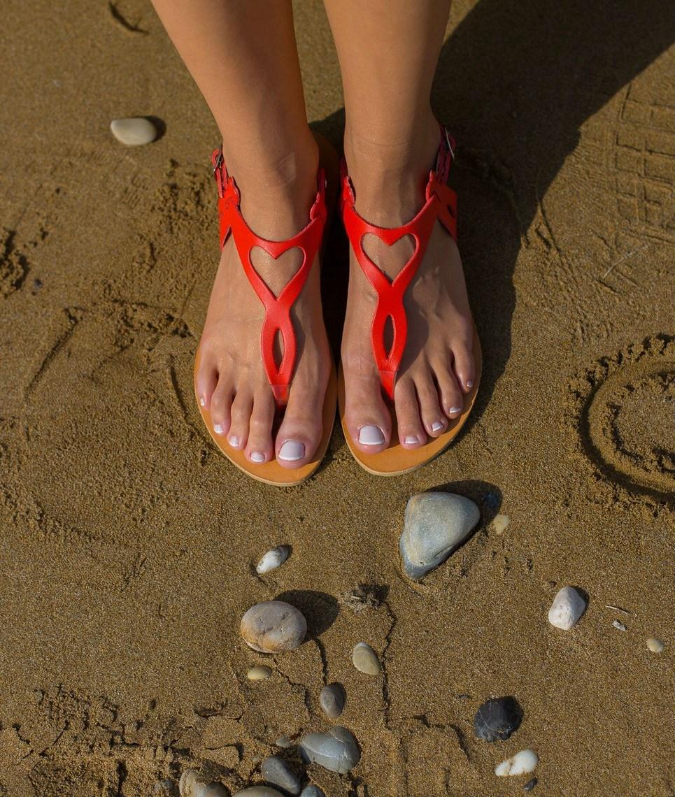 Eros Greek Leather Sandal – 4