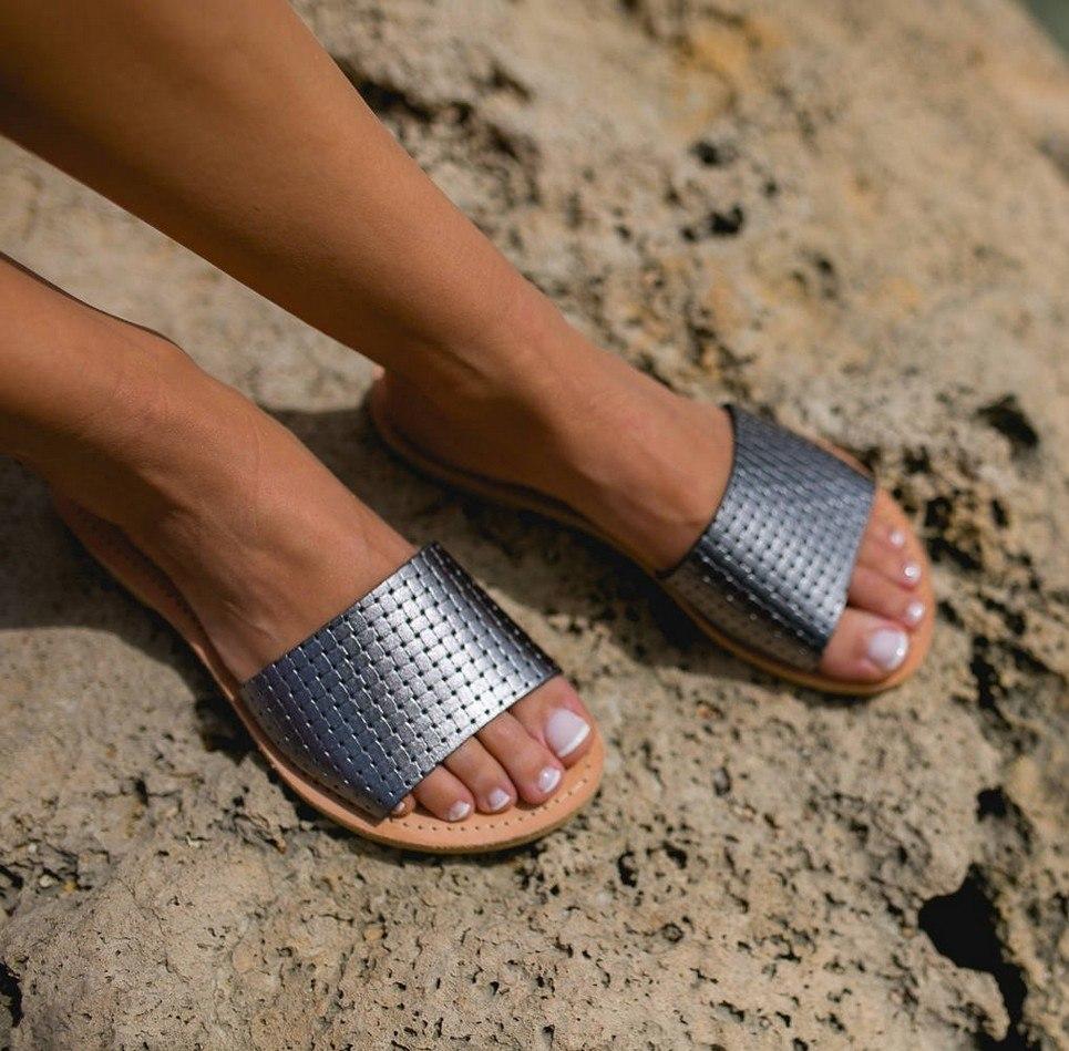 Leto Greek Leather Sandal