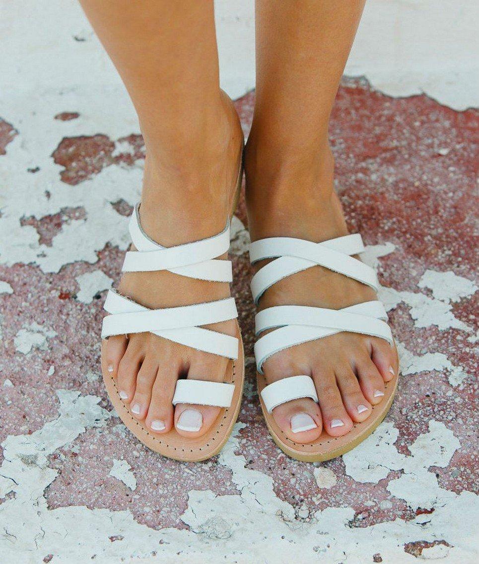 Paros Greek Leather Sandal – 3