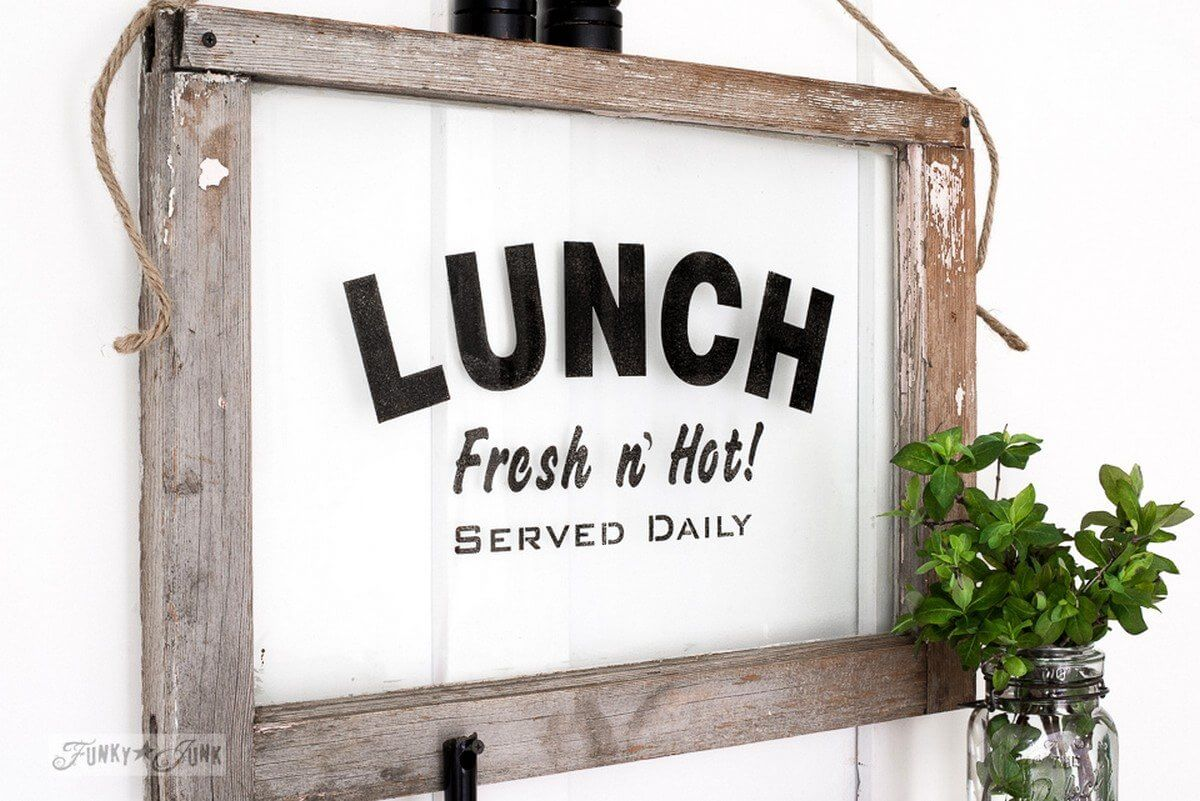 Rustic Diy Kitchen Signs That Match Your Farmhouse Decor