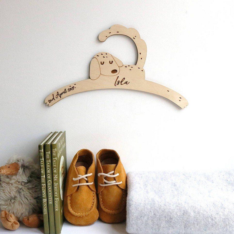 Little Dog Baby Coat Hanger