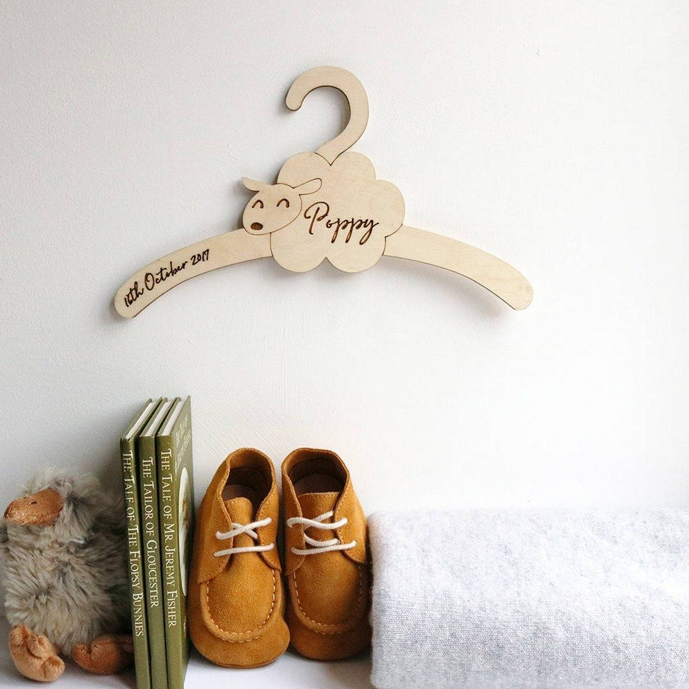 Little Sheep Baby Coat Hanger