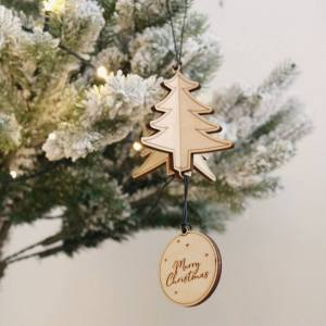 A family treasure to be displayed year after year, the Personalised Christmas Tree Decoration makes a thoughtful gift and adds a personal touch to any Christmas tree to celebrate Baby's First Christmas.