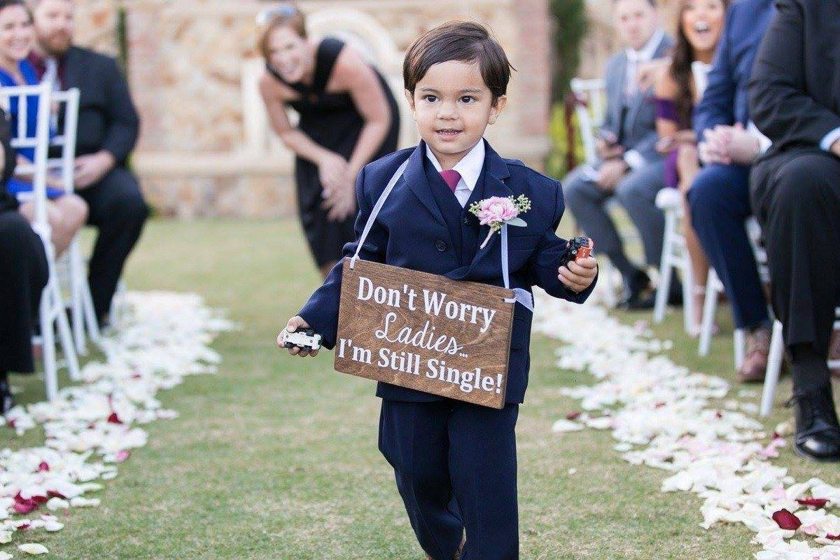 Not only do signs serve a concrete purpose for your guests, but they also add tons of warmth and personality to your venue for a customized touch.