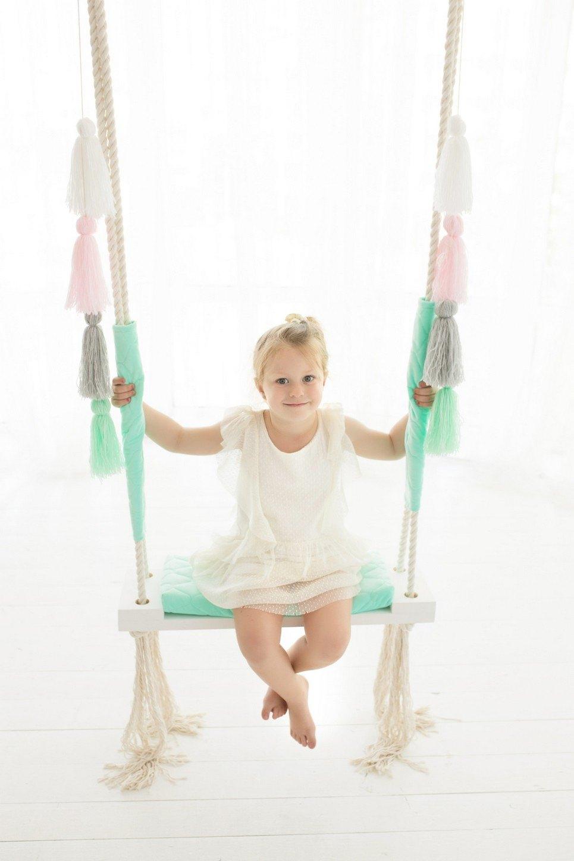 Mint Velvet Wooden Swing Set