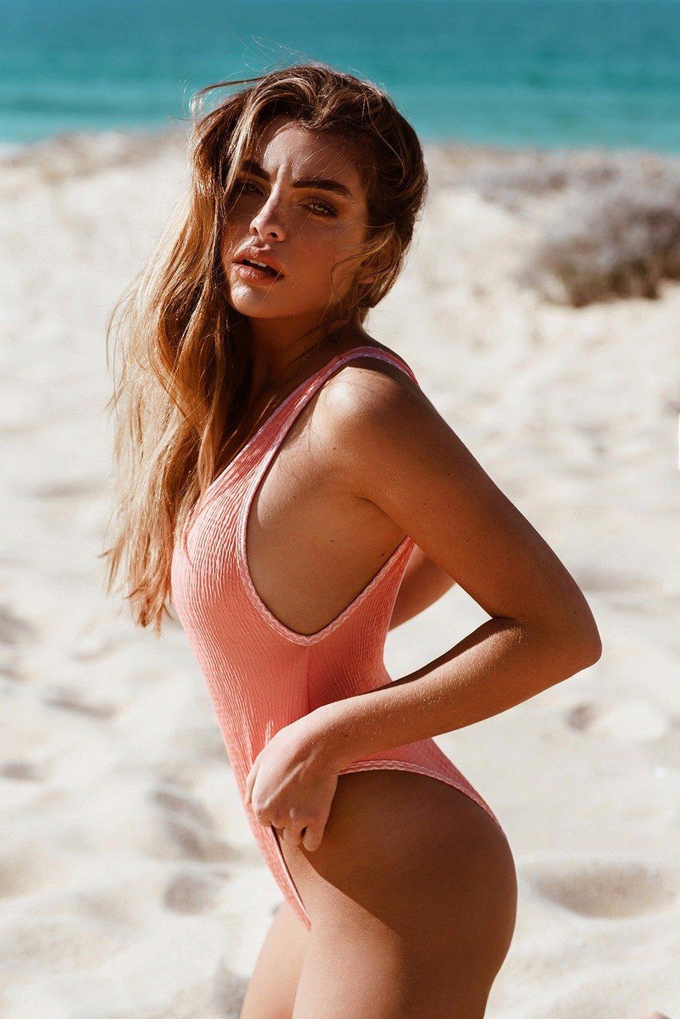 Pretty One-Piece Swimsuit