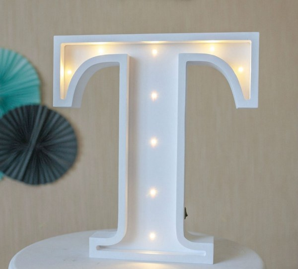 Letter K Marquee Light Sign – 3