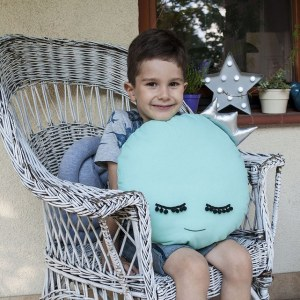 A unique way to show somebody just how much you care, the Mint Moon Baby Cushion is a truly unique occasional gift for your favourite little person to treasure for the years to come.