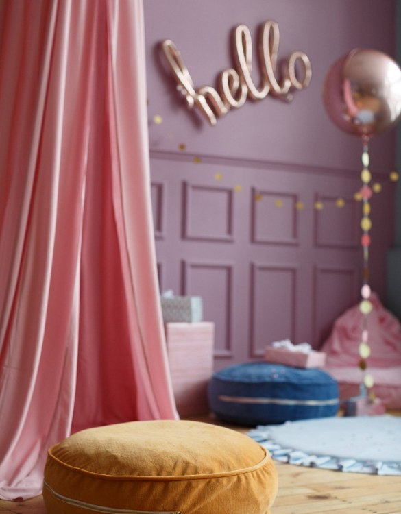 Great to have in a teenager's den, children's playroom or chill out zone, the Mustard Velvet Soft Children's Ottoman is wonderfully cute, cosy and a great centerpiece to any room.
