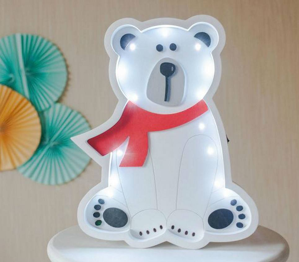 White Bear Decorative Night Light – 5