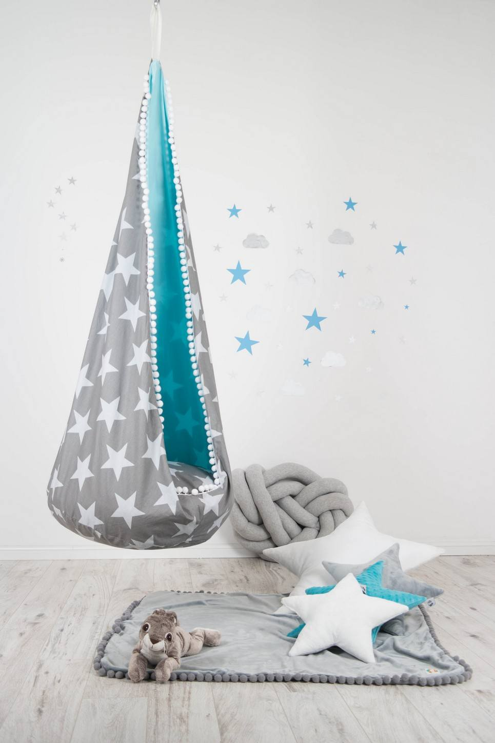 HANGING COCOON CHAIR SWING UNDERSKY STAR | Cocoon Patio ...