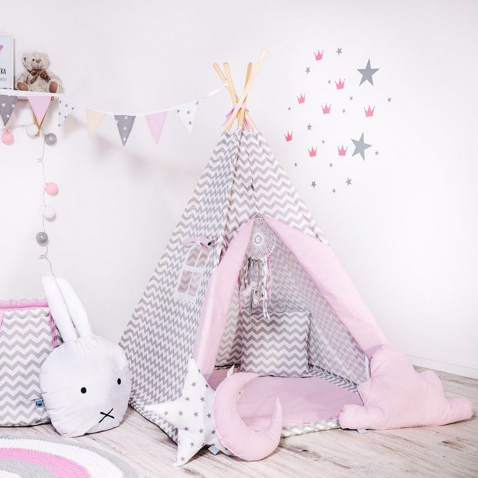 Child's Teepee Set Candy Nap