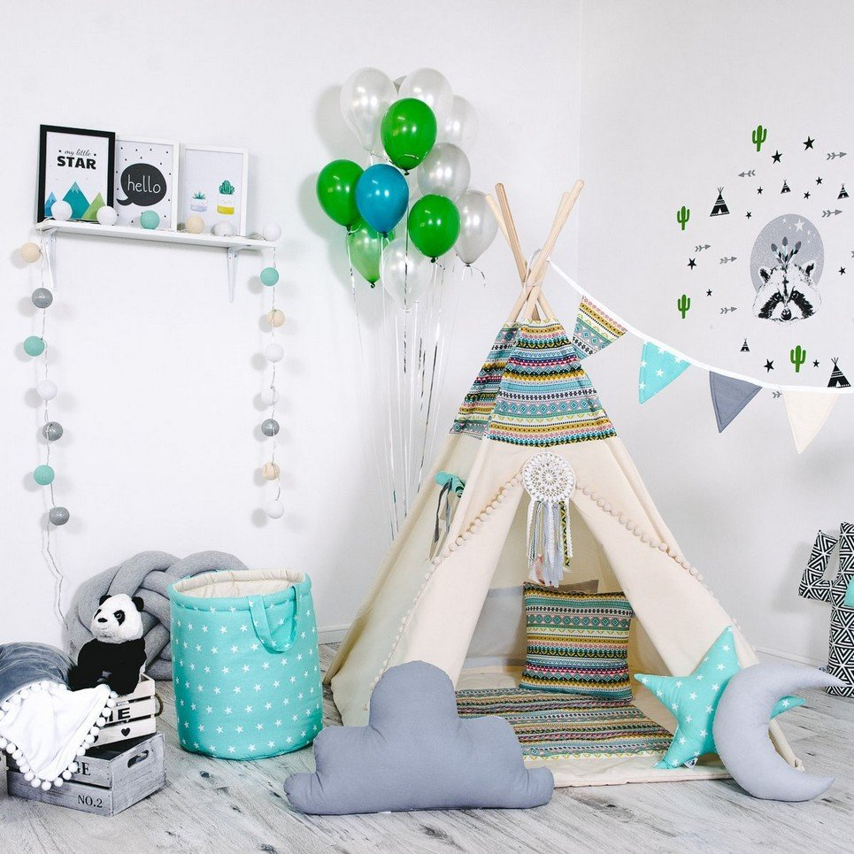 Child's Teepee Set Indian Adventure