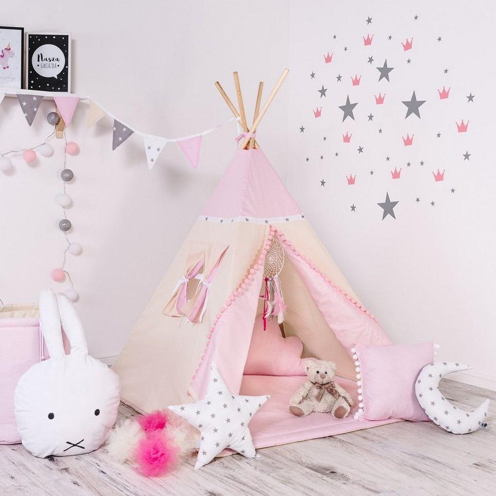Child's Teepee Set Princesses