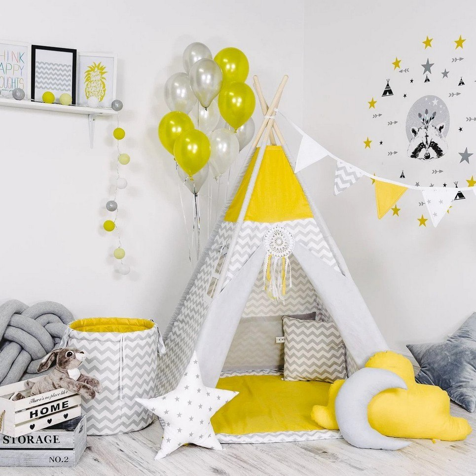 Child's Teepee Set Sunny Waves