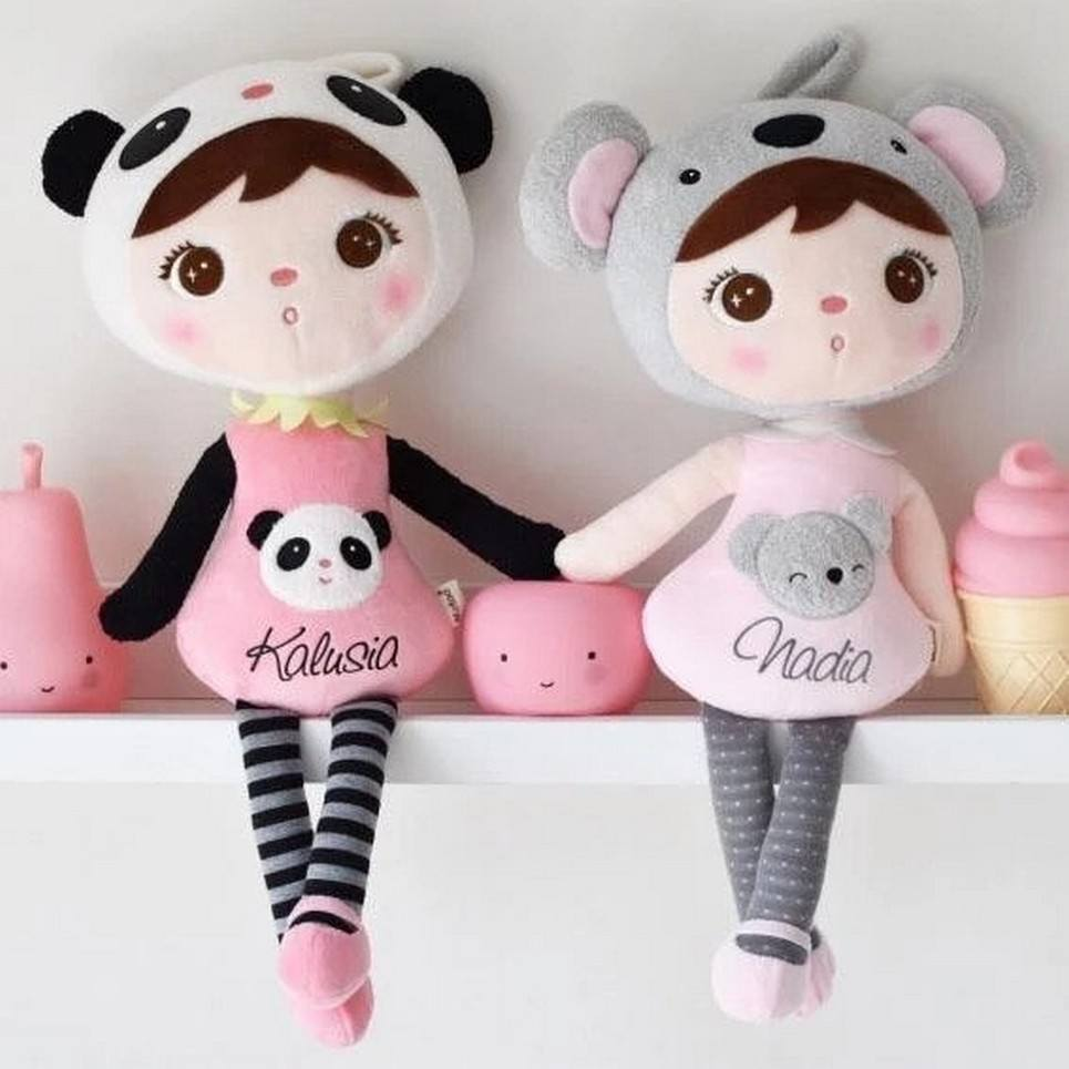 Personalised Soft Dolls Panda